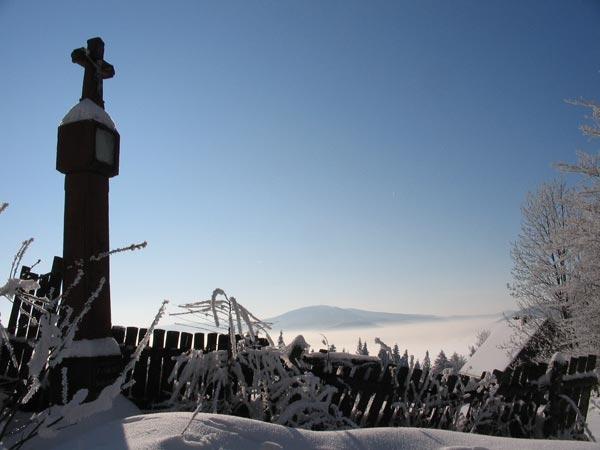 Kapliczka Międzybrodzkich w pobliżu Rogacza